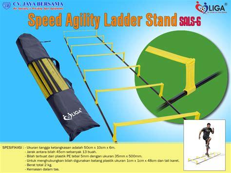 Alat Latihan Agility Ladder Speed Ladder Versi Ii speed agility ladder stand sals 6 agen alat olahraga