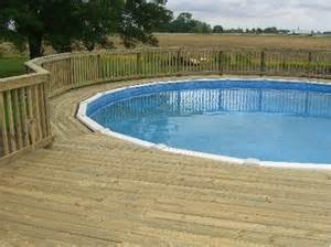 pool deck pool deck around round pools above ground pool decks pinterest