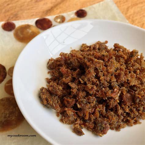 Sambal Roa Sambal Roa Rica Roa nasi goreng sambal roa metya s cook room