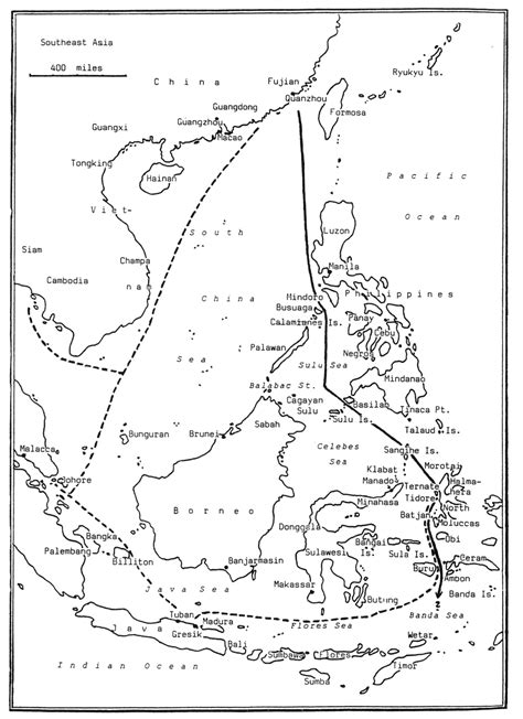 The Northern Trade Route to the Spice Islands : South