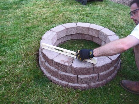 how to make a brick fire pit in your backyard outdoor brick fire pit ideas fire pit design ideas