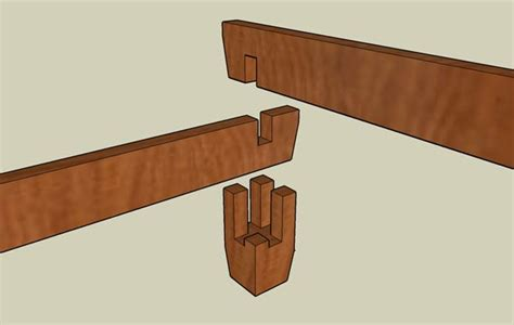 Good Detailed Pics Of Joinery For A Break Down Bed As Bed Frame Joints