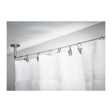 ikea wire curtain dignitet curtain wire stainless steel