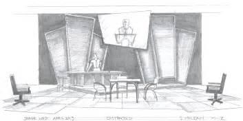 Jesse Bedroom Furniture Distracted Another Set Design Designandtechtheatre