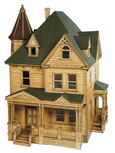 old doll houses apples an auction of antique dolls 43 wonderful 19th century wooden dollhouse with porches