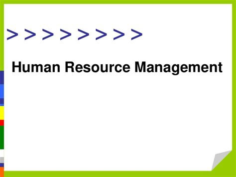Mba Human Resource Management Opportunities by Human Resource Management Parakramesh Jaroli Mba Hr