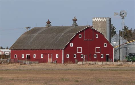 Barn N Co File Nelson Farm Merrick County Nebraska Barn From Se 1