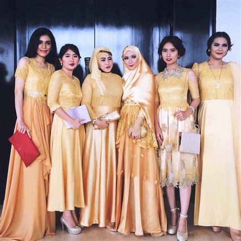 Kain Sifon Pink And Yellow 15 koleksi model kebaya terkini 2018 paling top contoh baju kebaya 2018