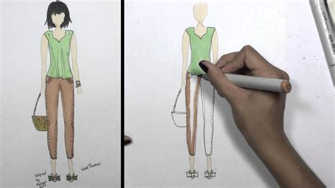 how to design clothes using illustrator how to draw clothes for beginners fashion designing loose