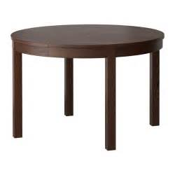 Ikea Dining Table by Bjursta Extendable Table Brown Ikea