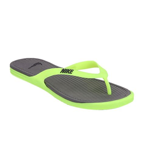 nike slippers green nike gray green matira rubber slippers price in