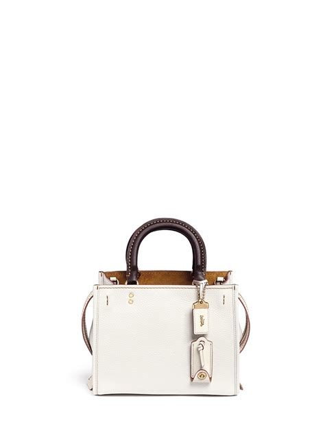 Coach 1941 Rogue 25 In Glovetanned Pebbled Leather coach rogue 25 glovetanned leather satchel in multicolor