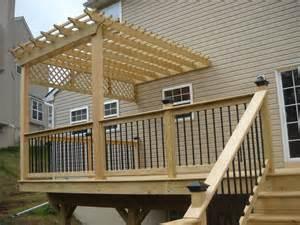 Second Story Deck Plans Pictures Deck Options Deck Construction Decks R Us