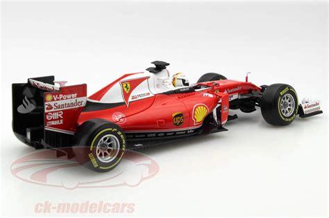 Ferrari 1 18 Models by Vettel S Company Car In Scale 1 18 Model Car Ferrari Sf16 H
