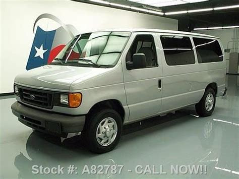 how cars work for dummies 2006 ford e 350 super duty engine control purchase used 2006 ford e 150 8 passenger van cruise control only 58k texas direct auto in