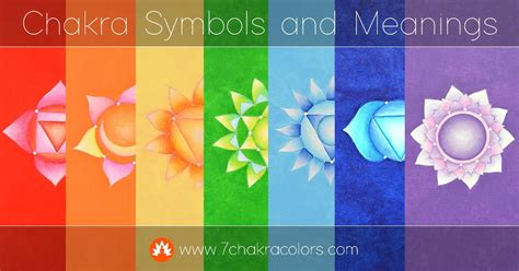 chakras and colors chakra symbols 7 chakra colors