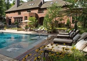 Inground pool ideas for small yards as backyard inground pool designs