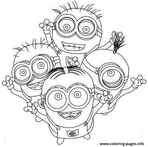 minions valentines coloring pages minion beedo coloring pages printable coloring pages