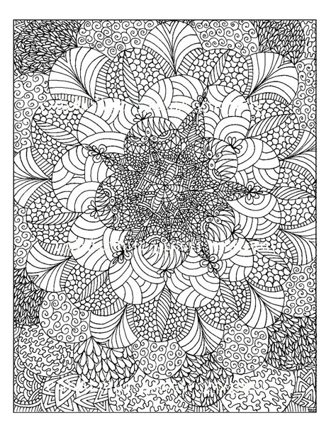 Colouring For Adults Anti Stress Colouring Printables