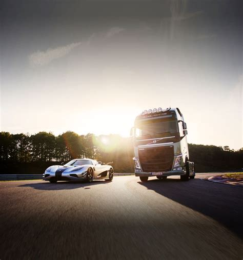 koenigsegg illinois volvo trucks vs koenigsegg one 1 il video