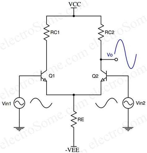 transistor differential lifier op operational lifier