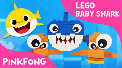 baby shark xmas version lego version of baby shark with pixar artist s family
