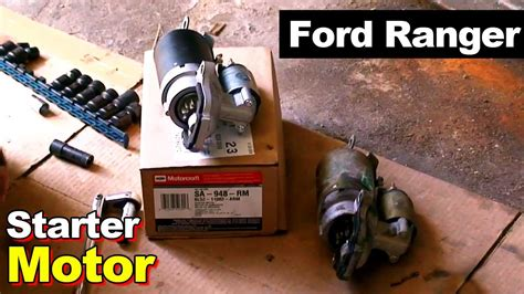 starter for 1994 ford ranger how to replace a starter on a 1994 ford ranger