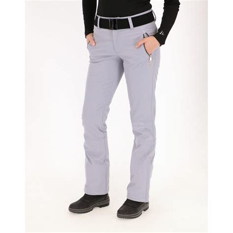 light gray ski pants luhta salle softshell ski pants women light grey