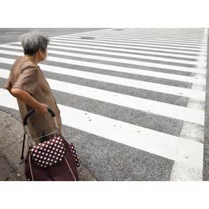 how to get more people on cross road most older pedestrians unable to cross the road in time