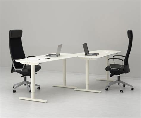 modern desks ikea bekant standing desk by ikea ergonomic office furniture design ideas