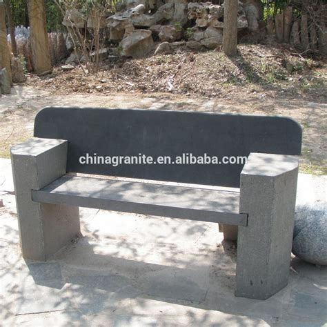 stone benches with backs new design garden stone park bench size with back buy