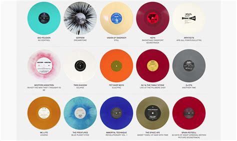 colored vinyl colored vinyl archive shows thousands of records
