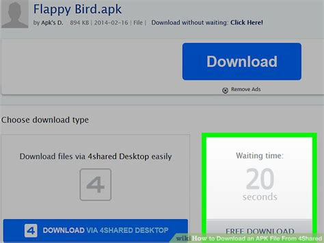 4sharã d free apk how to an apk file from 4shared 7 steps with pictures