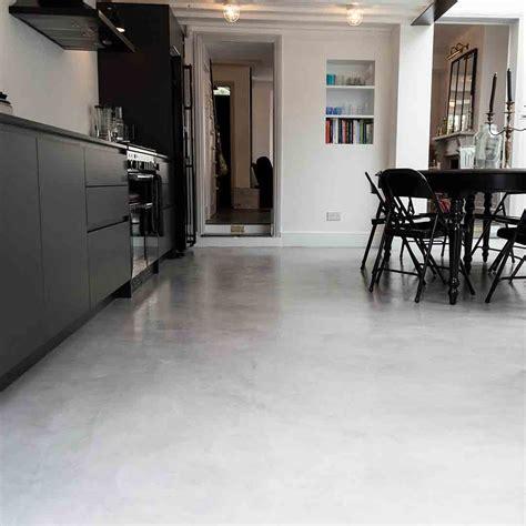 micro concrete kitchen installation