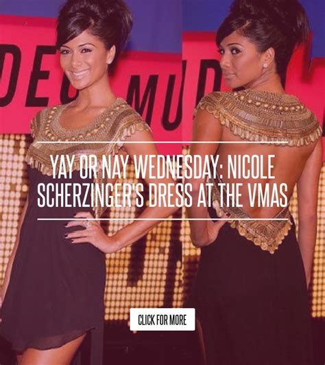 Yay Or Nay Wednesday 29 by Yay Or Nay Wednesday Scherzinger S Dress At The Vmas