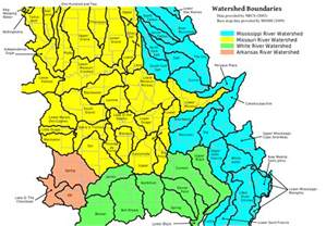 watershed map mohap missouri major watersheds map
