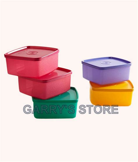 Medium Summer Fresh Set Of 4 Tupperware buy tupperware cool fresh small set of 5 coloured