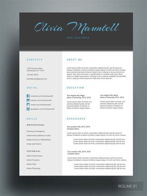 color resume templates hayrun resume do you the blue color then this