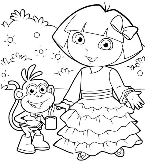 dora valentine coloring pages coloring pages dora valentine coloring pages designs