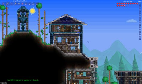 Terraria Sky House Designs Www Imgkid Com The Image House Layout Terraria