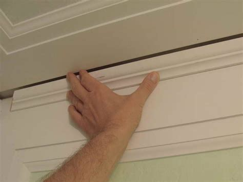 how to install crown molding on top of kitchen cabinets interior installing easy crown molding ideas lighted
