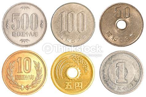 imagenes de monedas japonesas monedas de yen japon 233 s foto de stock thinkstock