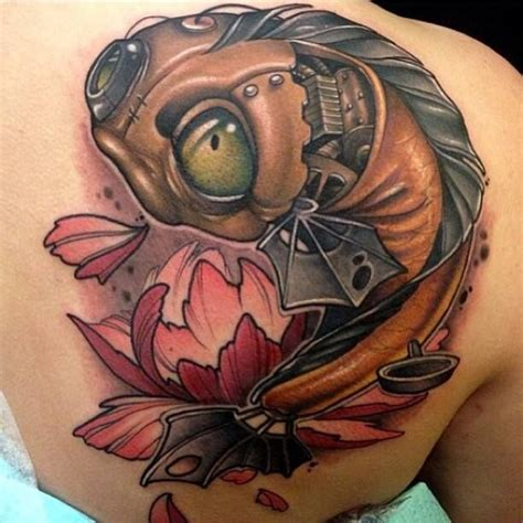 steampunk koi fish get inked or die tryin pinterest