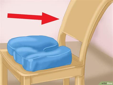 dolore coccige seduto come usare un cuscino per il coccige 12 passaggi