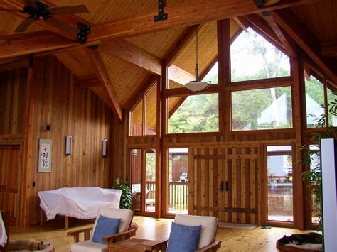 homes and interiors post and beam building system defined pan abode cedar homes