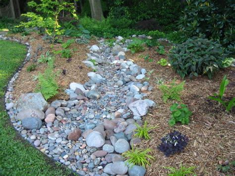 Backyard Creek Bed by Signature Gardens Backyard Bling 3 A Bridge To Somewhere