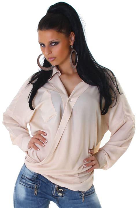 Oversize Hemd Damen by Bluse Shirt Top Langarm Hemd Oversize Damen Casual