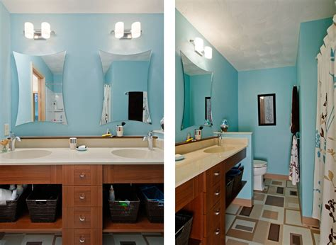 light blue and brown bathroom ideas blue brown bath dave fox