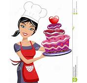 Chocolate Cake Clipart Chef  Pencil And In Color