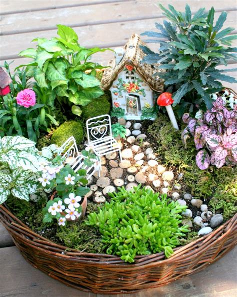 18 Miniature Fairy Garden Design Ideas Style Motivation Mini Garden Ideas